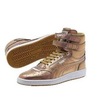 Puma Sky Hi Holo Gold Leather